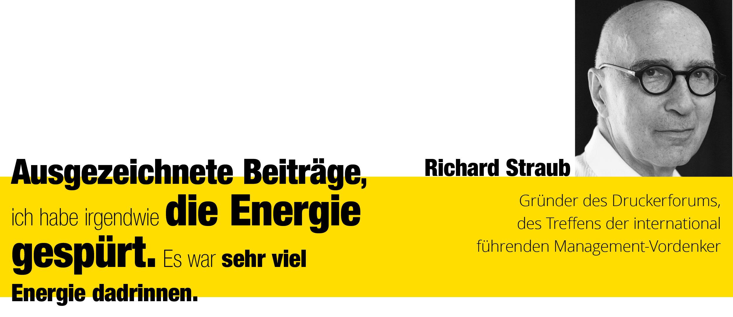 Zitat von Richard Straub