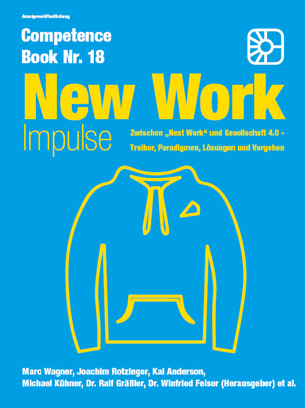 Cover: Competence Book - New Work