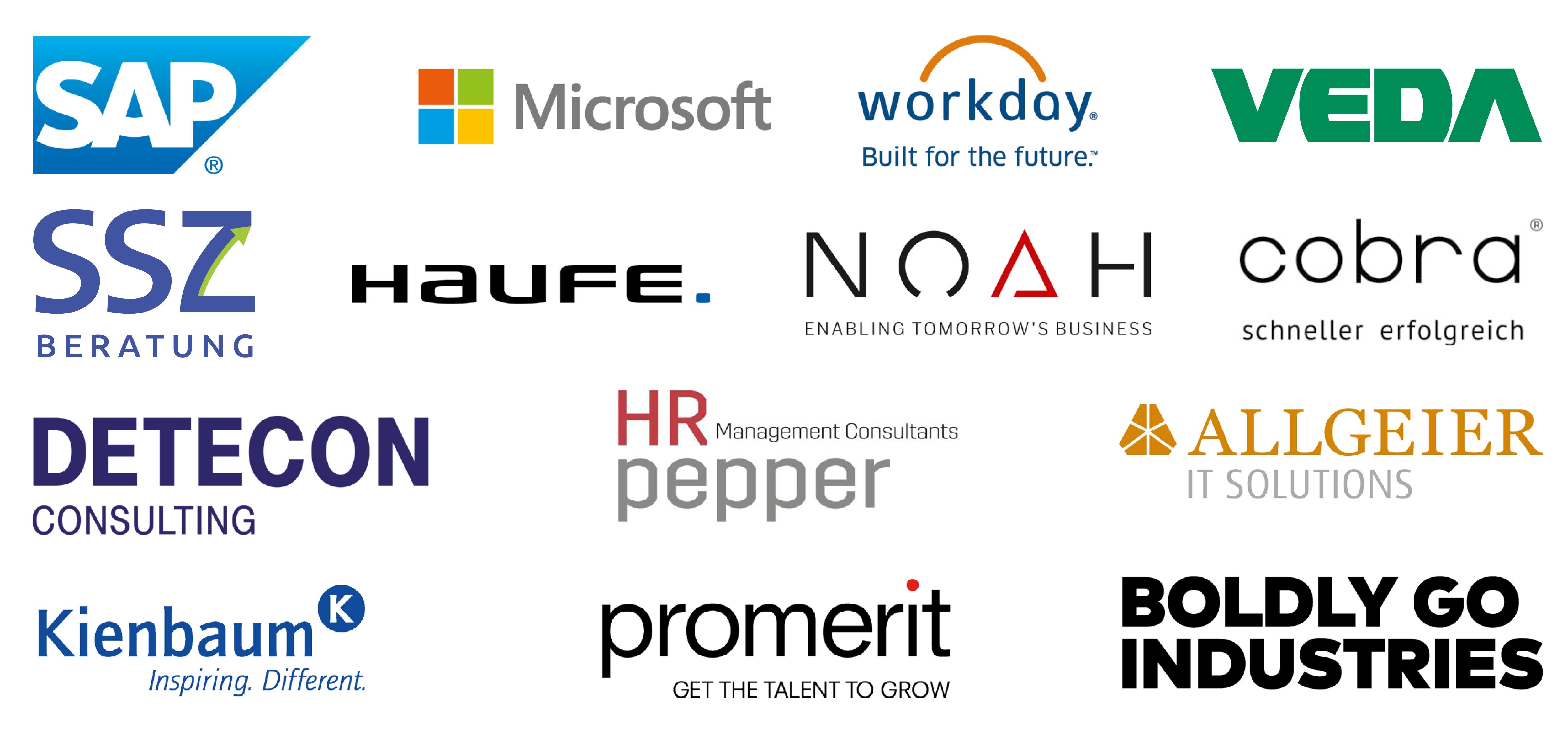 Mitwirkende und fördernde Unternehmen