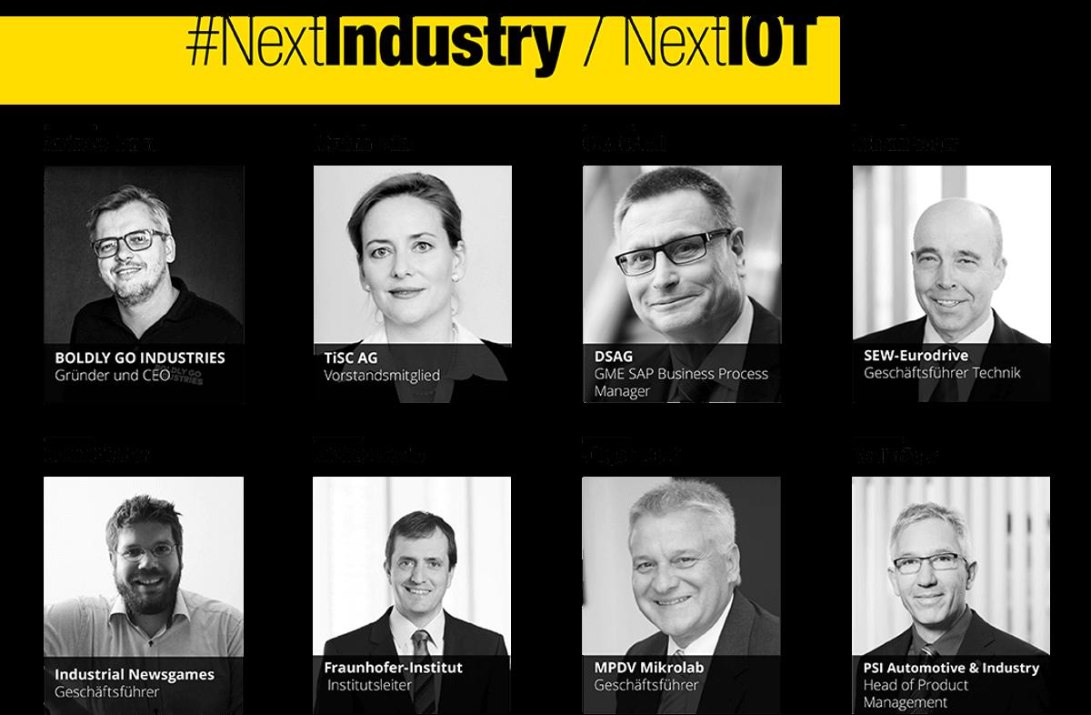 Einige Partner zu dem Thema #NextIndustry / NextIOT
