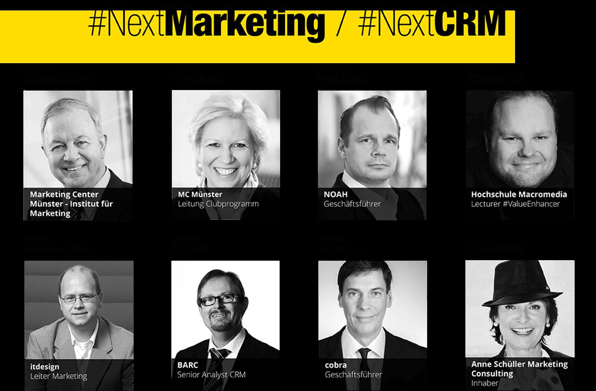 Einige Partner zu dem Thema #NextMarketing / NextCRM